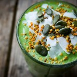 hemp protein green smoothie