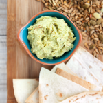 Seeded avocado chilli houmous